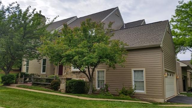 Exterior view of home in The Knolls of Birmingham neighborhood.
