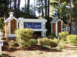 Gated Entrance to The Capes