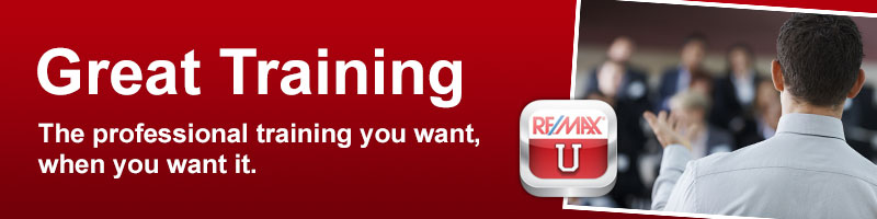 RE/MAX Properties, Inc  Careers: Better Training: RE/MAX