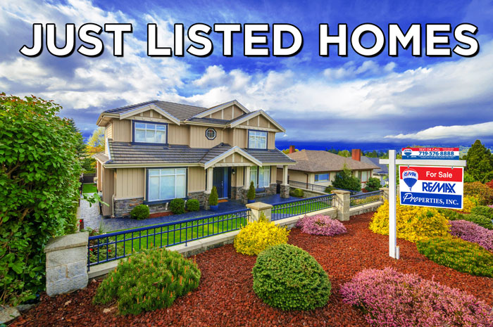 Colorado Springs Homes for sale - new on the market