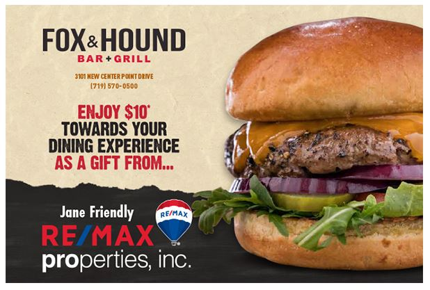 remax properties fox and hound bar and grill