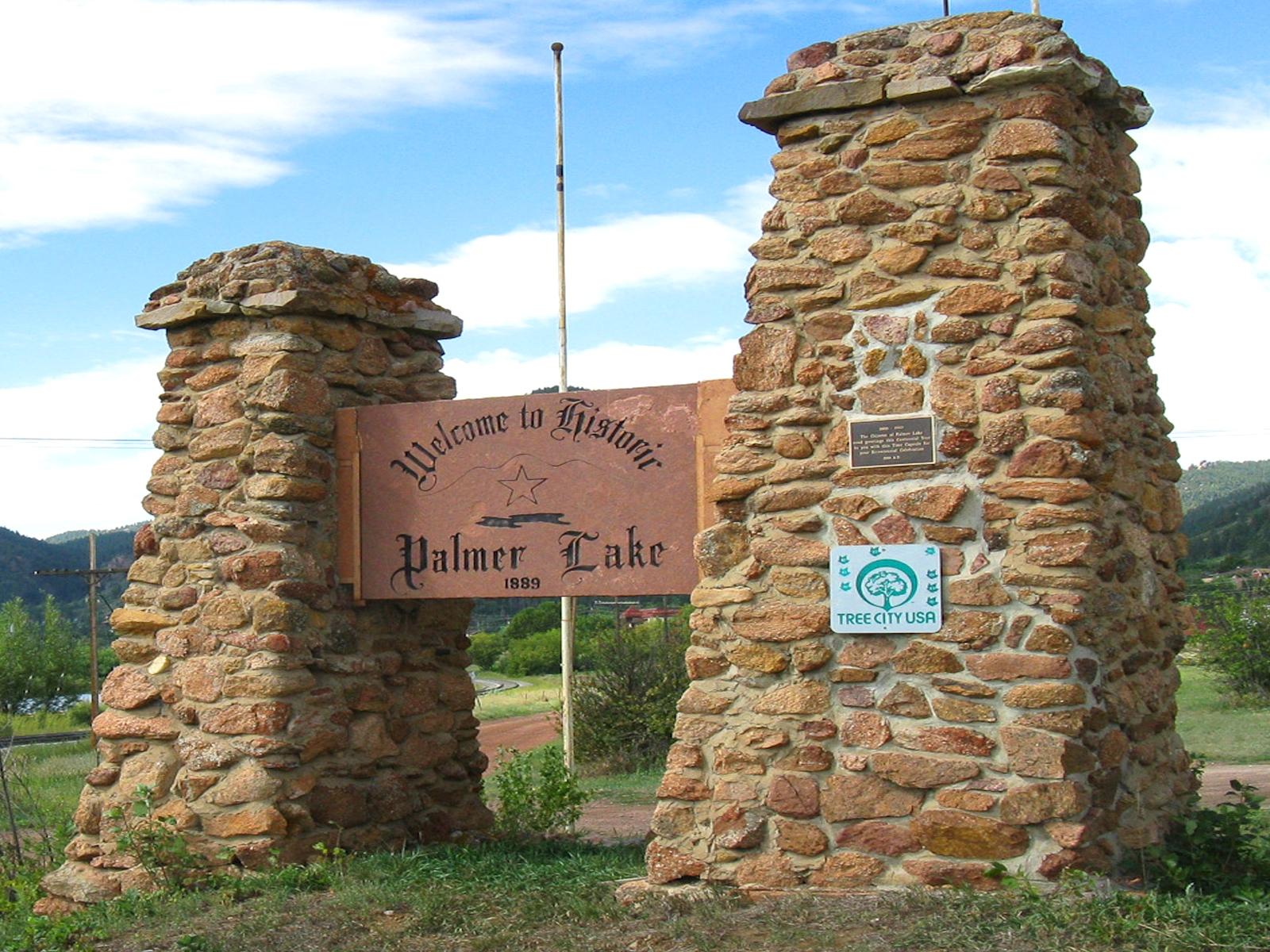 Palmer Lake sign