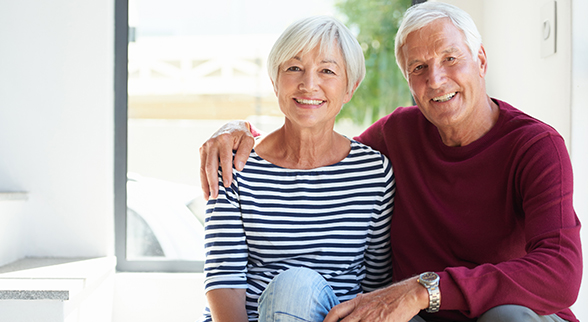 Image of a Senior Couple Man and Woman