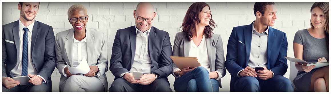 Image of Friendly, Smiling group of Real Estate Agents