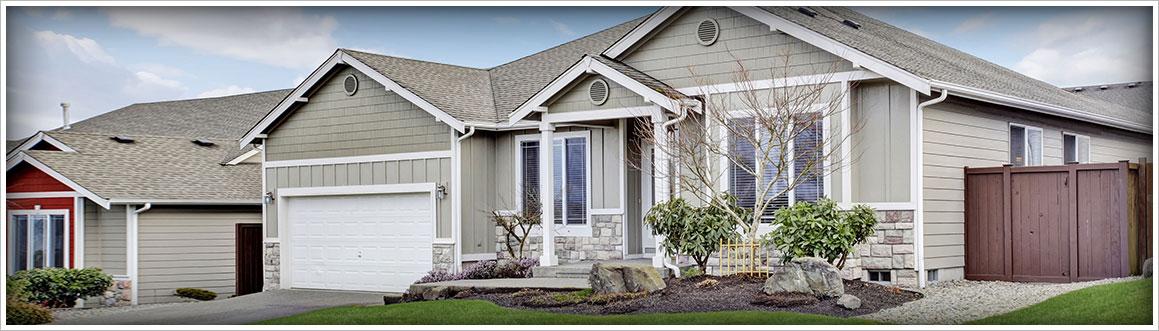 Image of a Nice Suburban Home