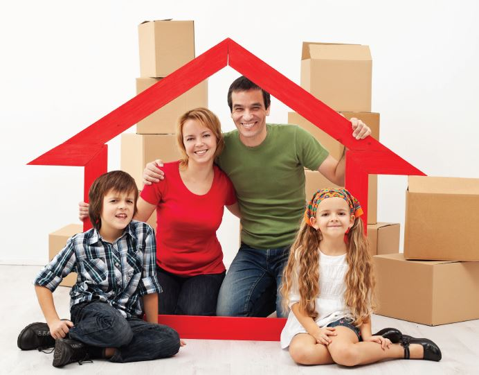 home moving family concept photo