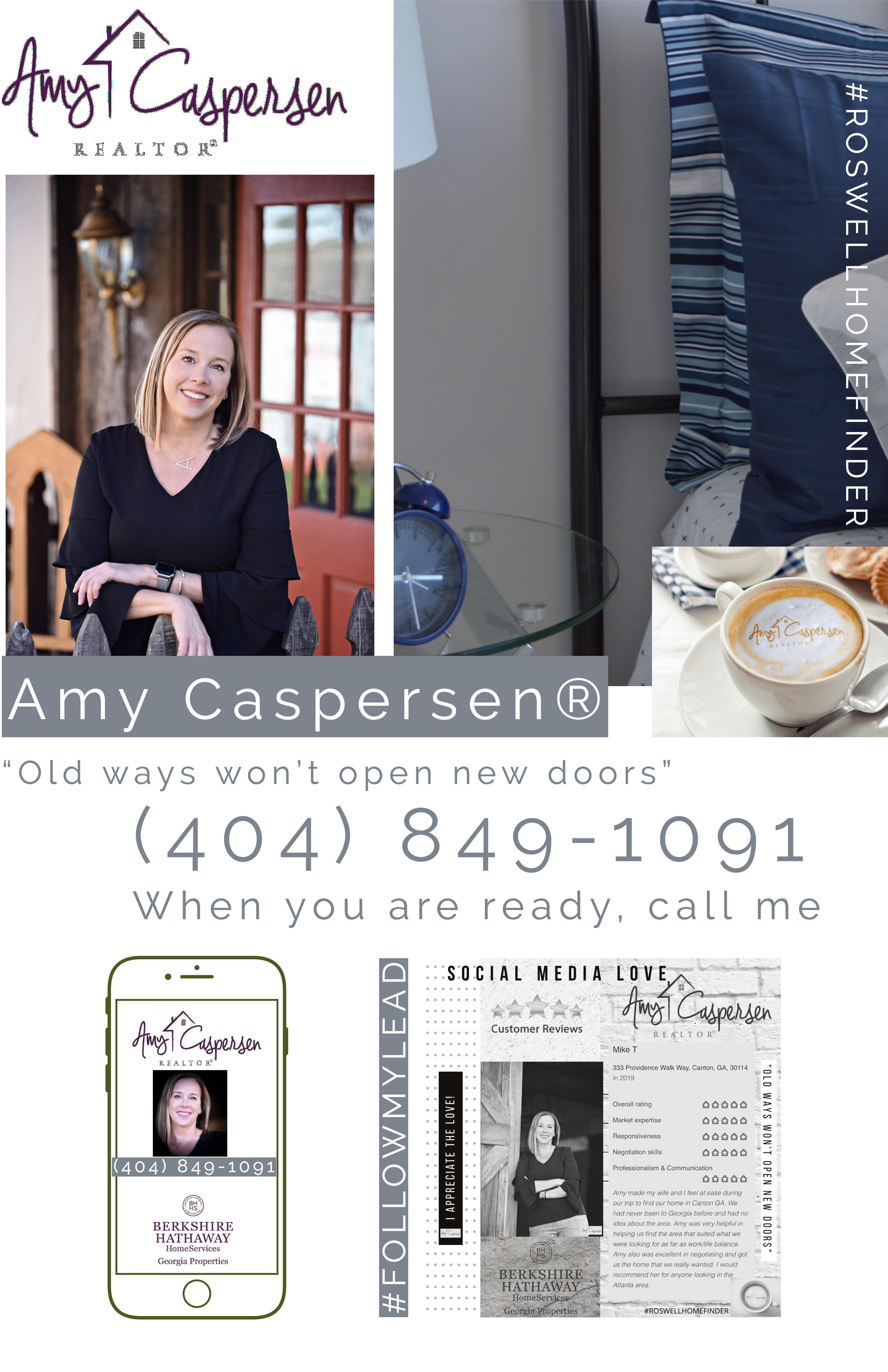 Amy Caspersen roswell and East Cobb Real Estate Agent IG
