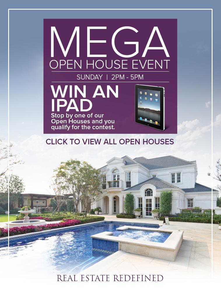 MEGA Open House Event - Sunday, September 17, 2017