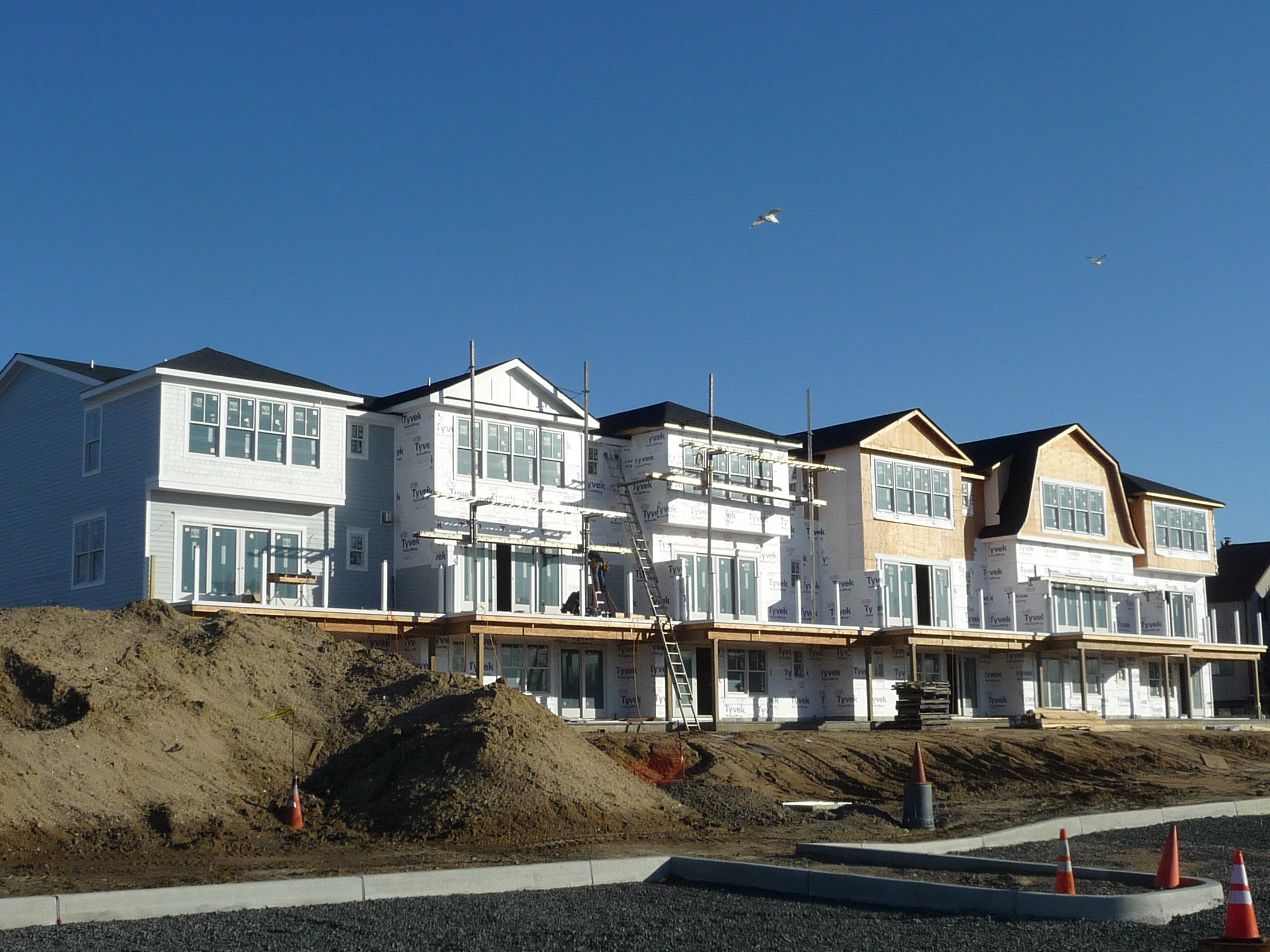 Sunset Villas condos is in the north end of Long Branch by the Shrewsbury River
