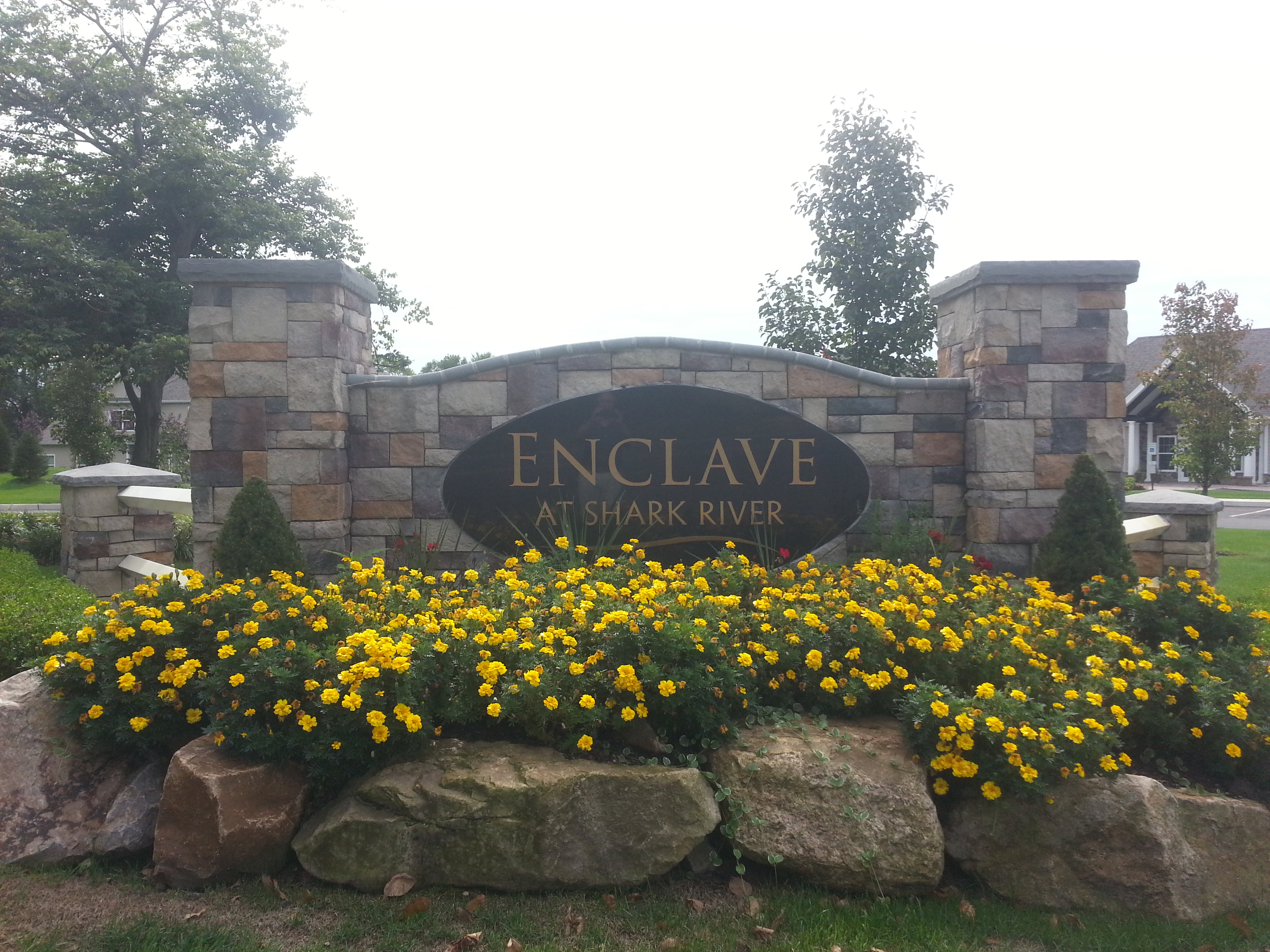 The Enclave at Shark River is an age restricted, 55+, active adult community in Tinton Falls NJ