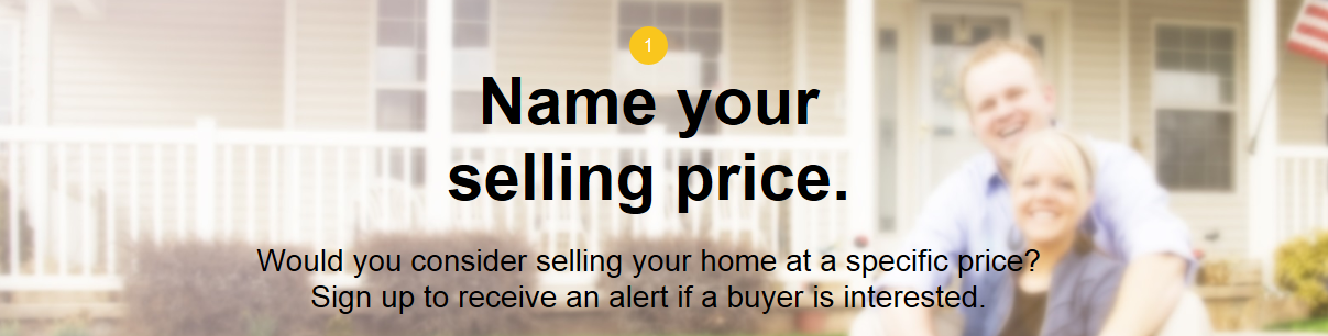 Name your price banner