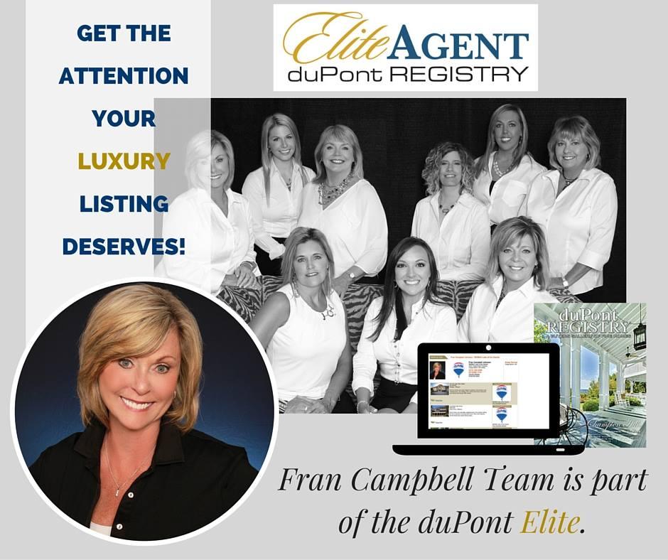 Fran Campbell Team duPont Registry