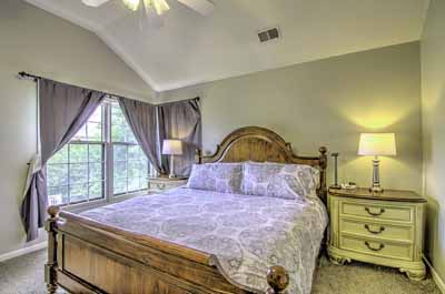 Master Bedroom in HDR - what a difference!