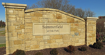 Summerfield neighborhood in Overland Park, KS