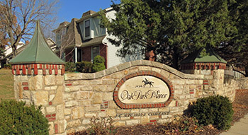 Oak Park Manor subdivision in Overland Park, KS