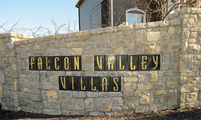 homes for sale in Falcon Valley Villas in Lenexa