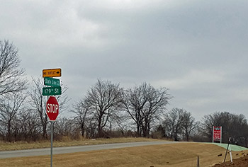 Street Signs at Sundance Ridge in Overland Park