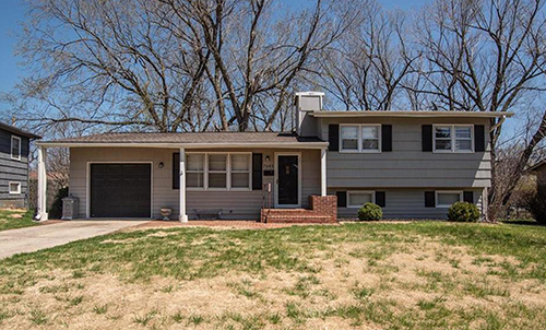 7405 Ballentine St, Shawnee, KS Open House April 22, 2018
