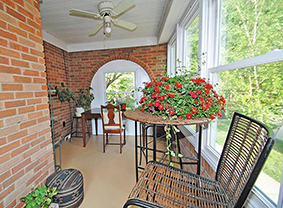 Cute Porches like this can be found in Brookside homes in KCMO