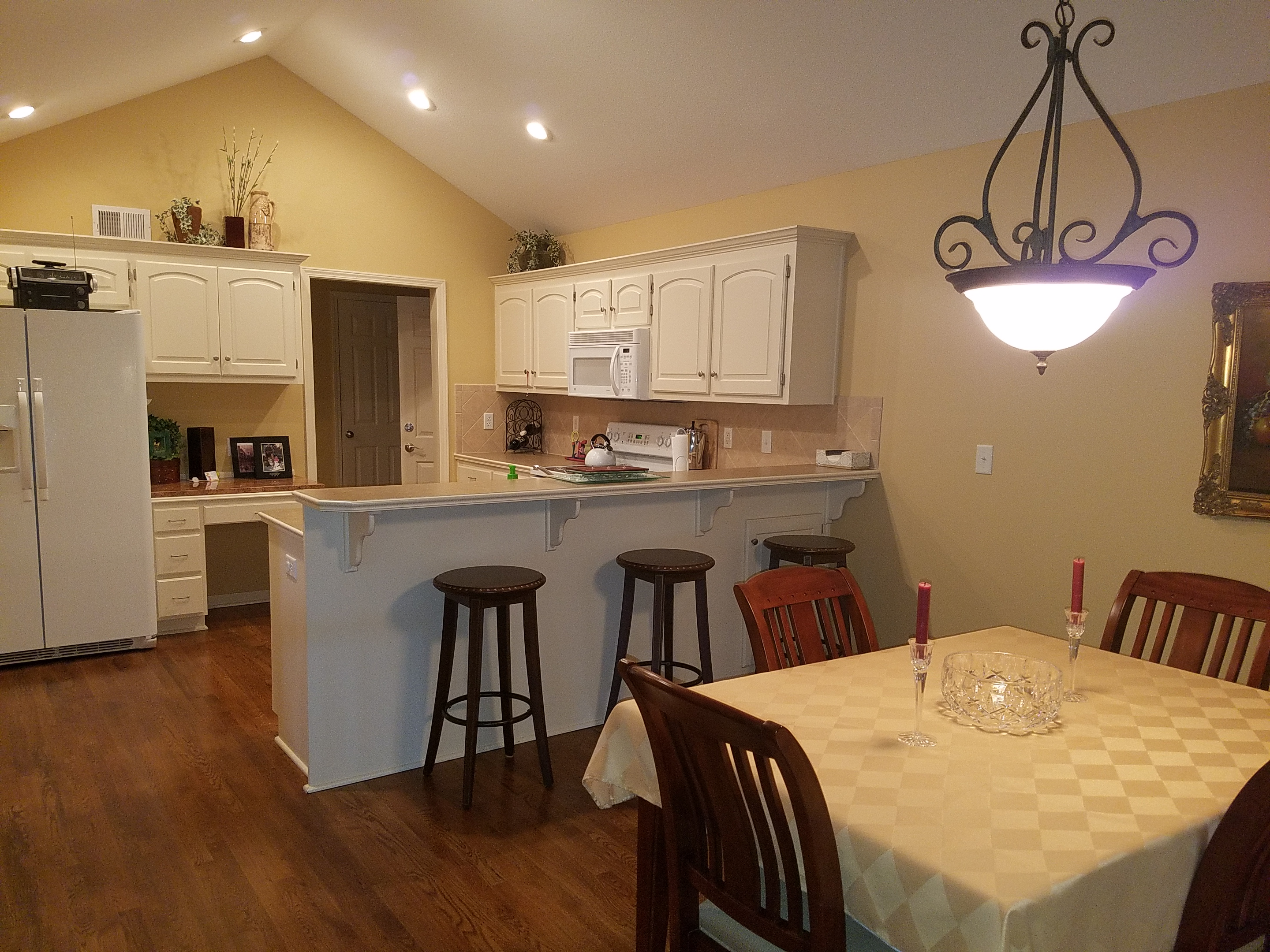 An example of an affordable, but beautiful, condo