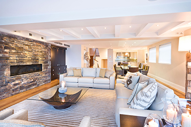 A Shawnee, Kansas-style living room