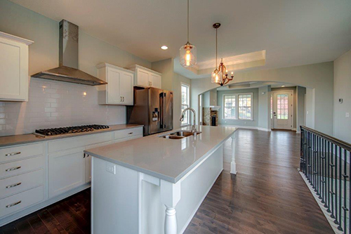 An example of a beautiful JoCo KS townhome interior
