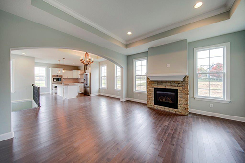 Many JoCo KS Villas have an open concept, like this brand-new one