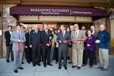 BHHS Lifestyle Properties Ribbon Cutting