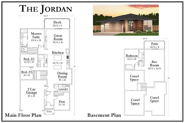 Kemmer Summit Jordan Floorplan