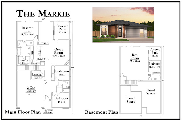 Kemmer Summit Markie Floorplan
