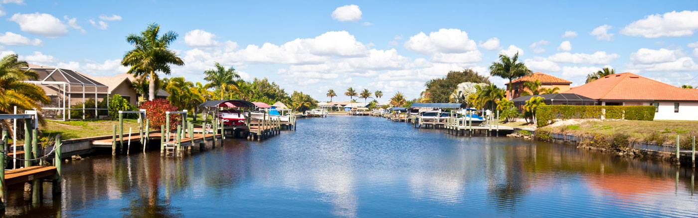 Cape Coral neighborhood, Florida