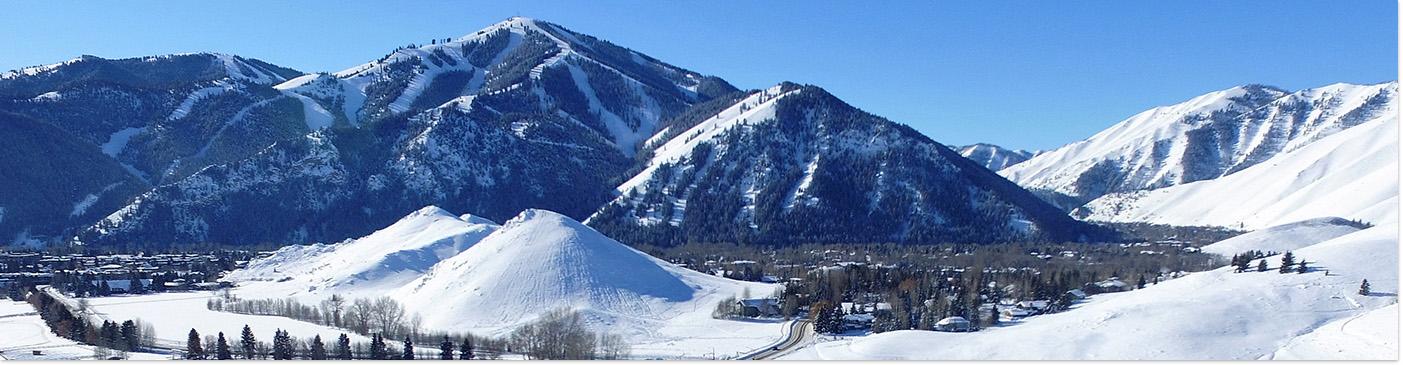 Sun Valley Idaho Winter Baldy