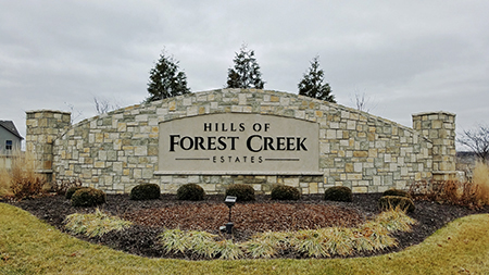 Hills of Forest Creek Estates in Shawnee