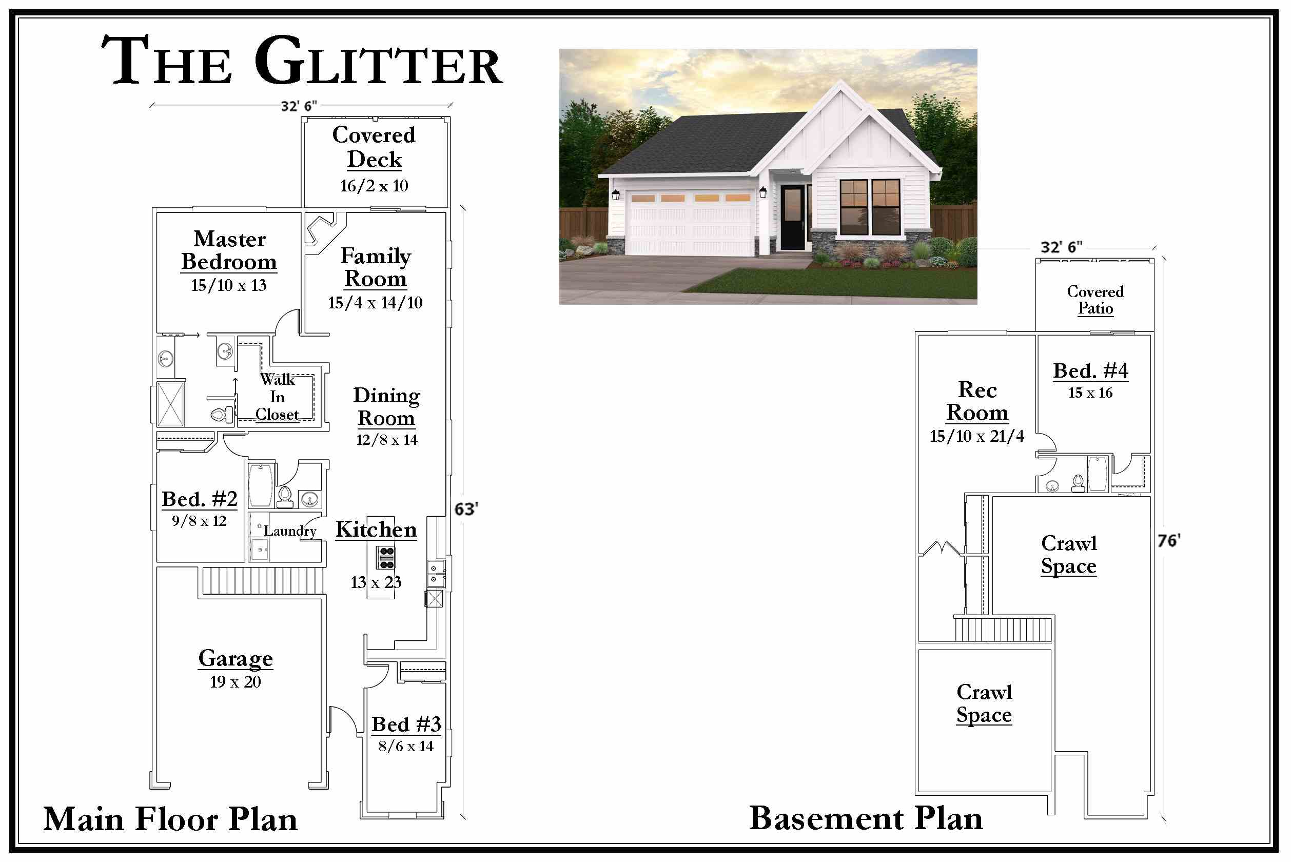 Kemmer Summit Glitter Floorplan