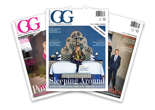 GG Magazine covers