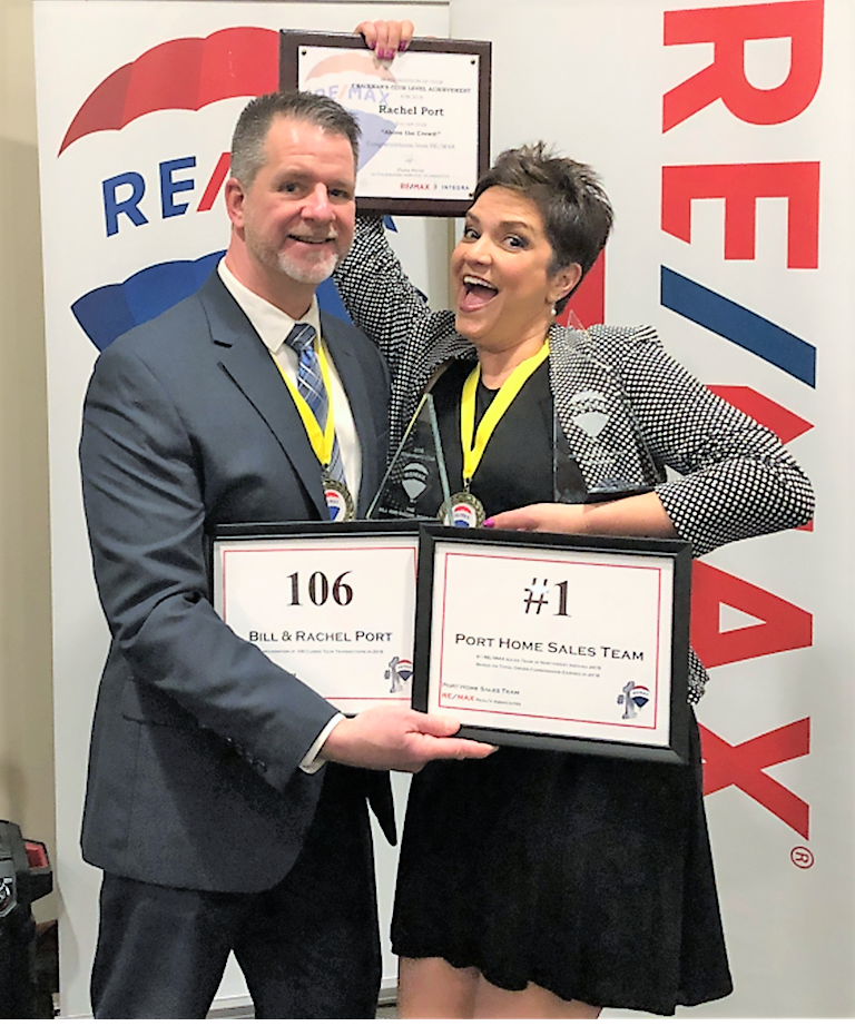 Bill & Rachel Port, NWI #1 Best REMAX Realtors