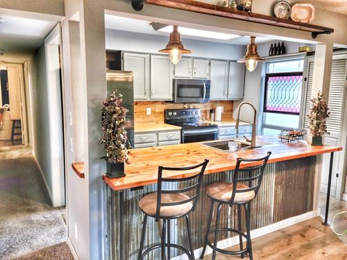 Photo of kitchen at Marbella Condos