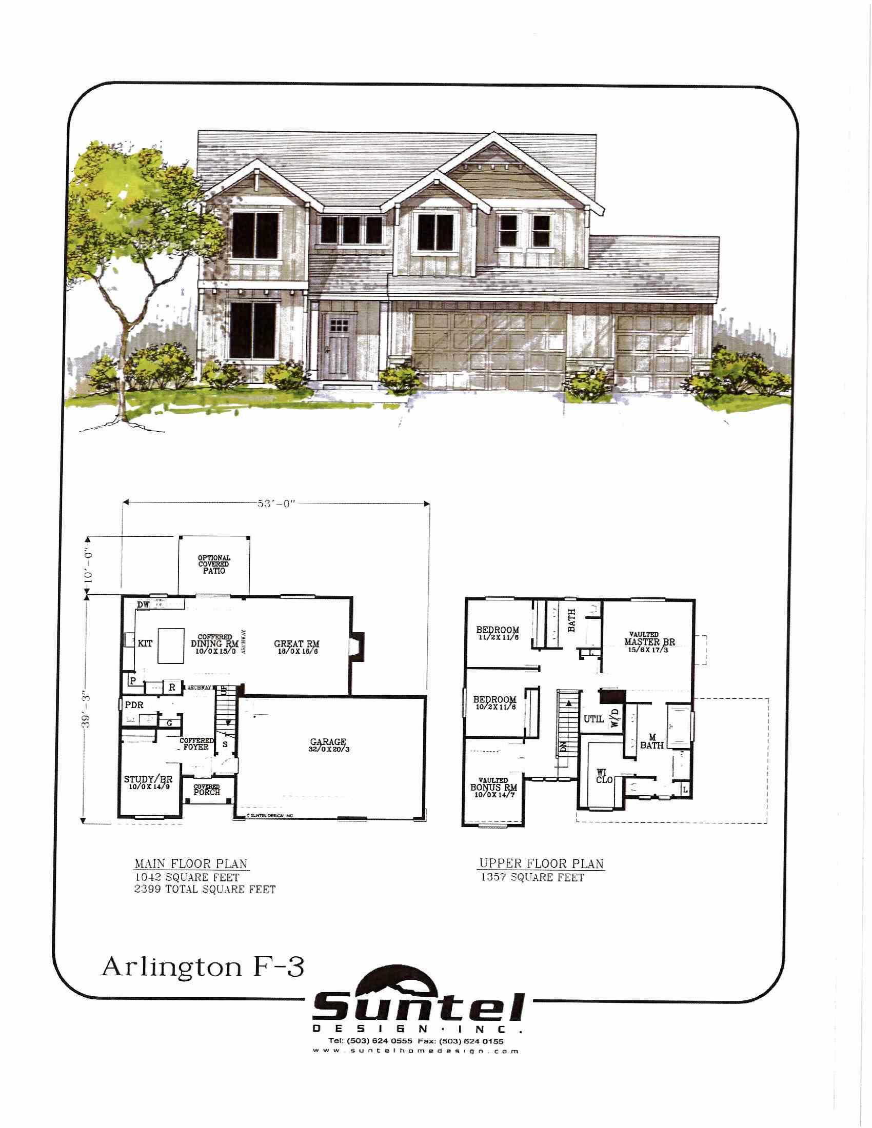Arlington Floor Plan JR Meadows