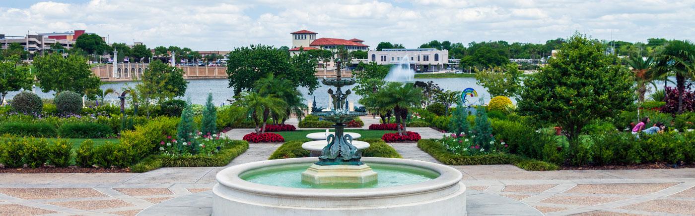 Lakeland, Florida garden