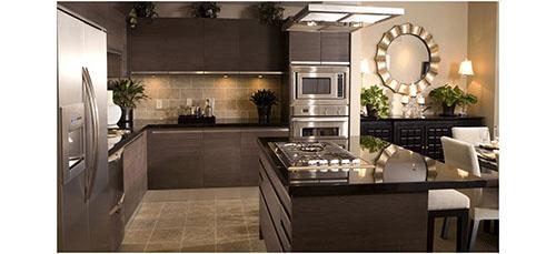 modern home interior kitchen