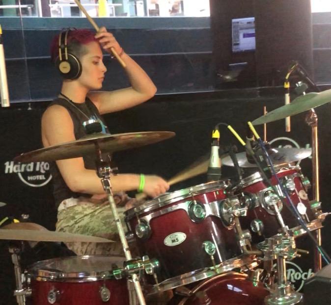 Violet Port, Drummer, Musician, Chicago, Northwest Indiana