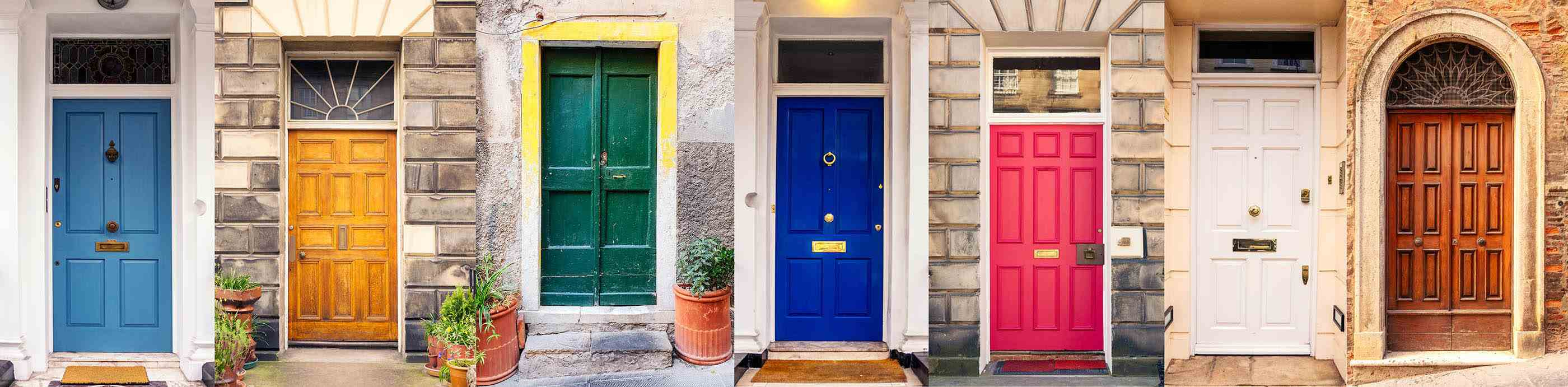 multiple style doors