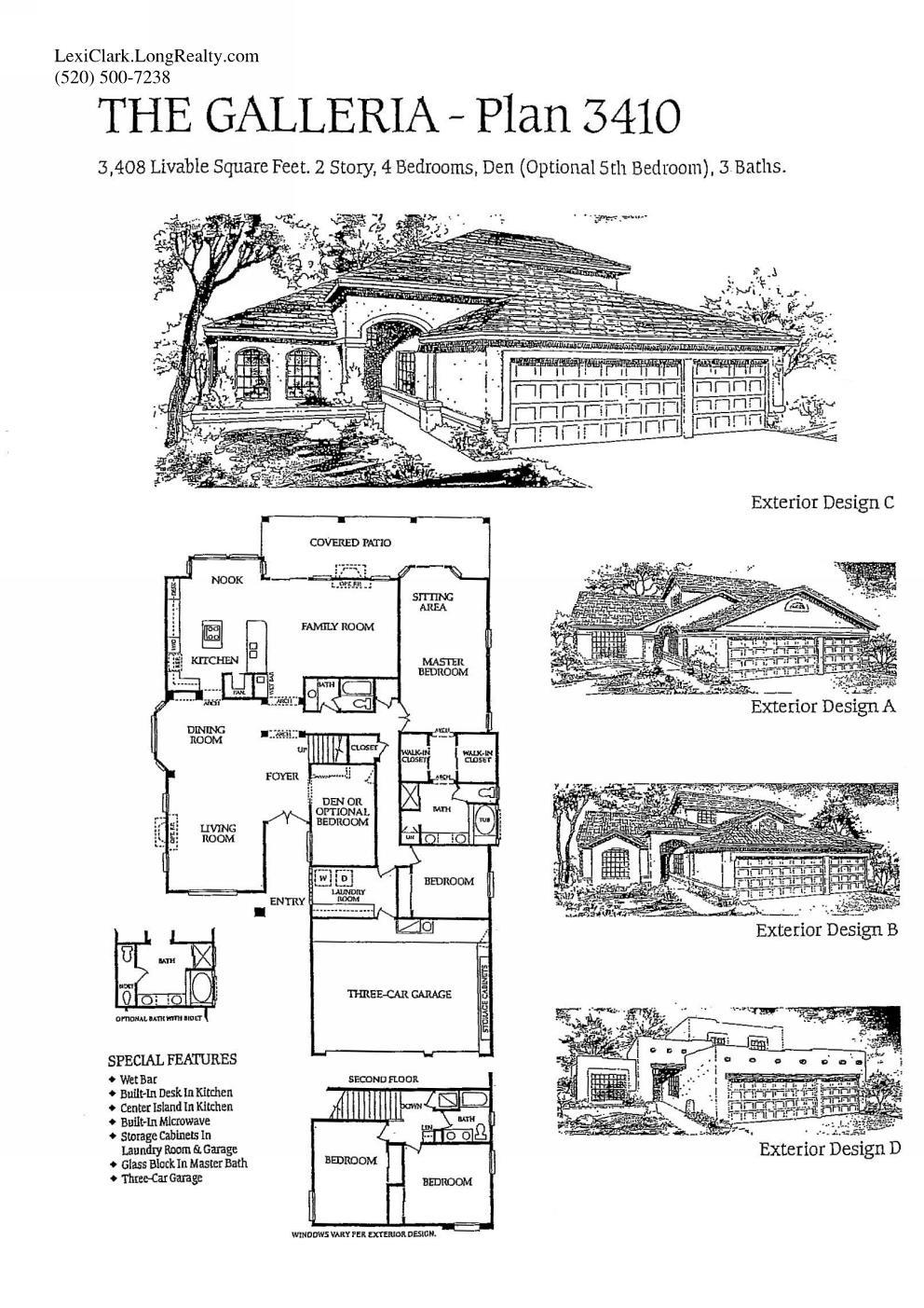 SaddleBrooke Floor Plans on 2 floor log homes, 2 floor decor, 2 floor kitchen, 2 floor building, 2 floor design, 2 floor office layout, 2 floor blueprints, 2 floor cabin,