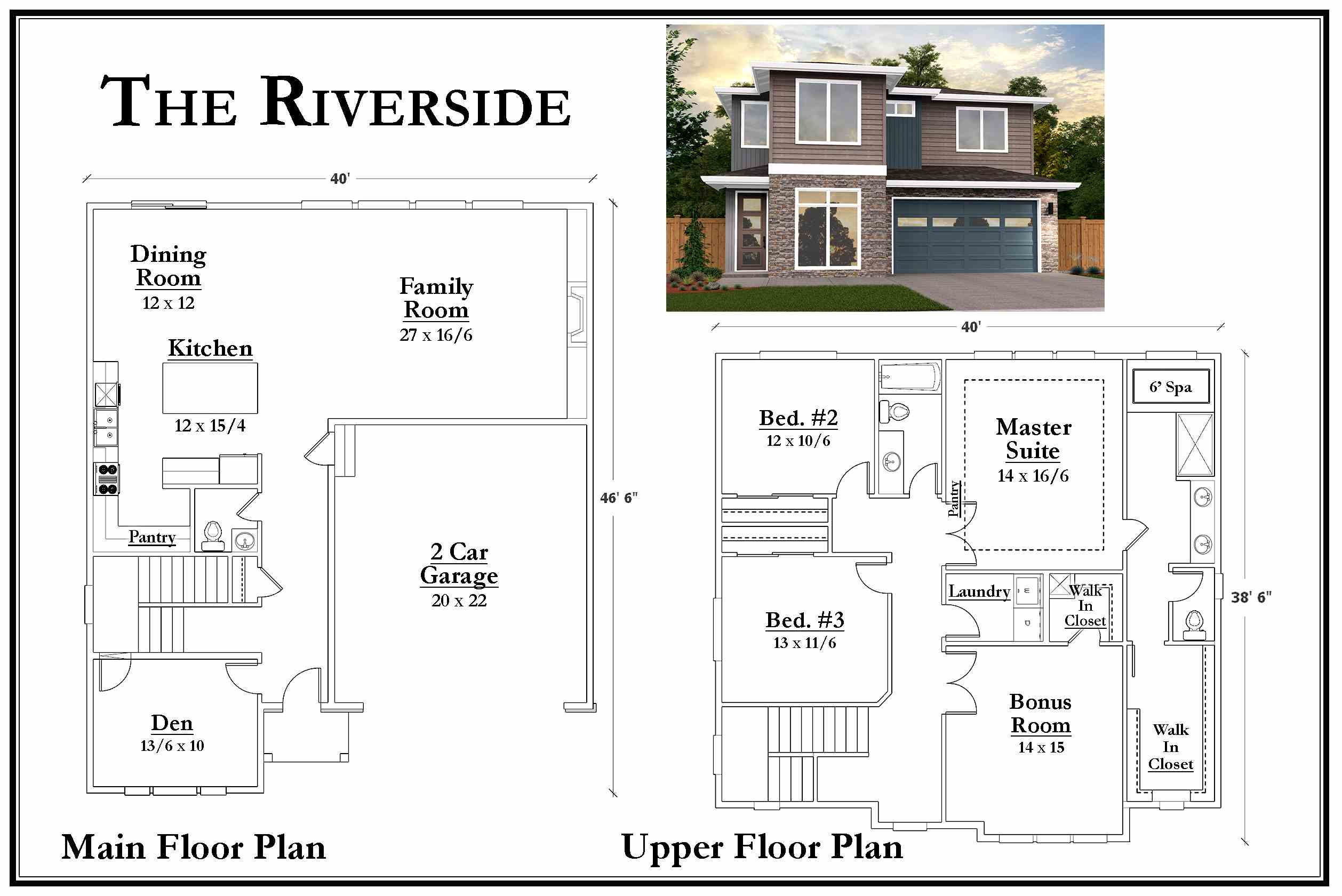 Kemmer Summit Riverside Floorplan