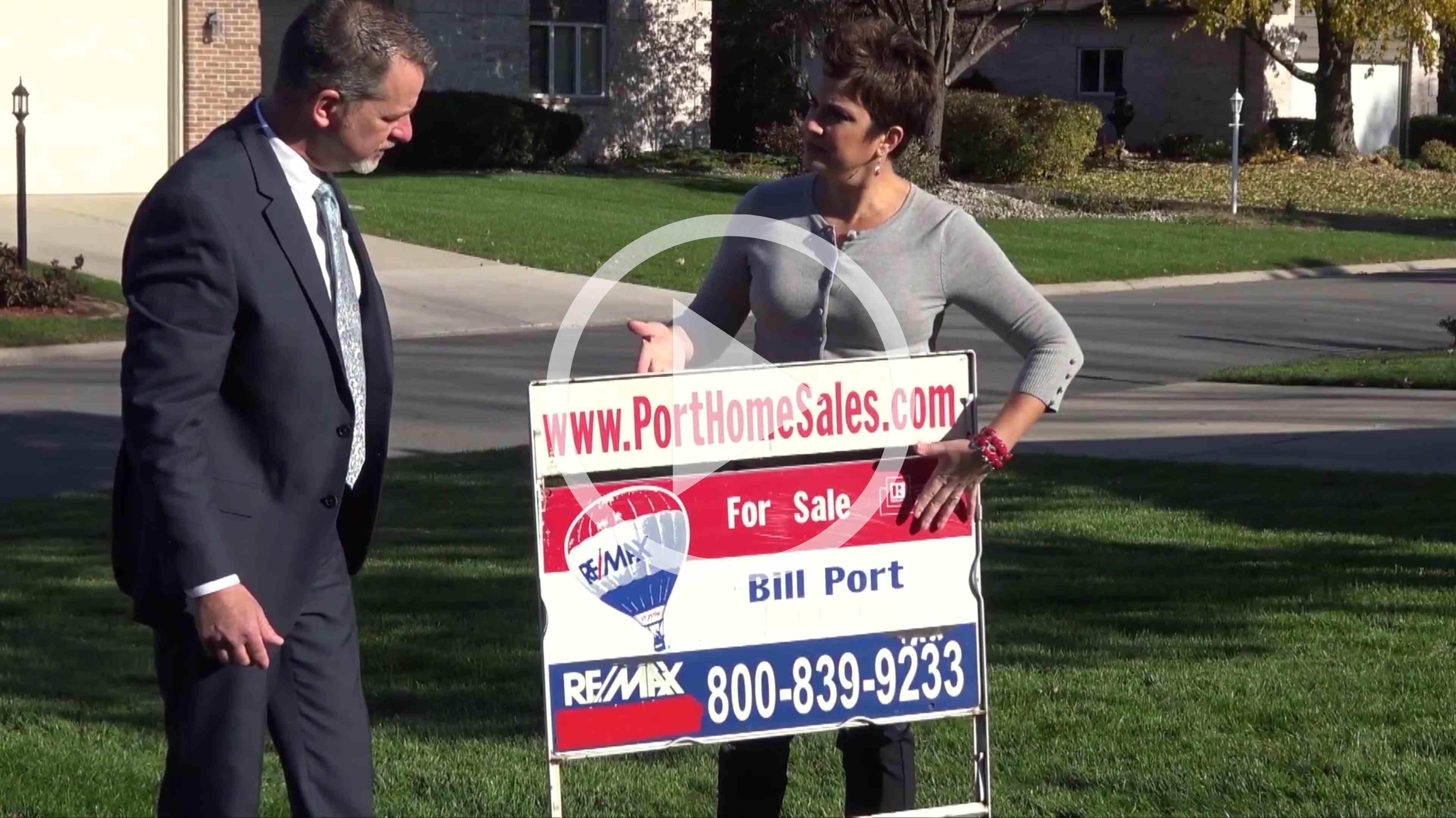 Video of Bill Port, Rachel Port Selling Homes in St. John, Indiana, Realtors Sell, Sale, Saint John