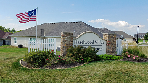 Hazelwood Villas Entrance