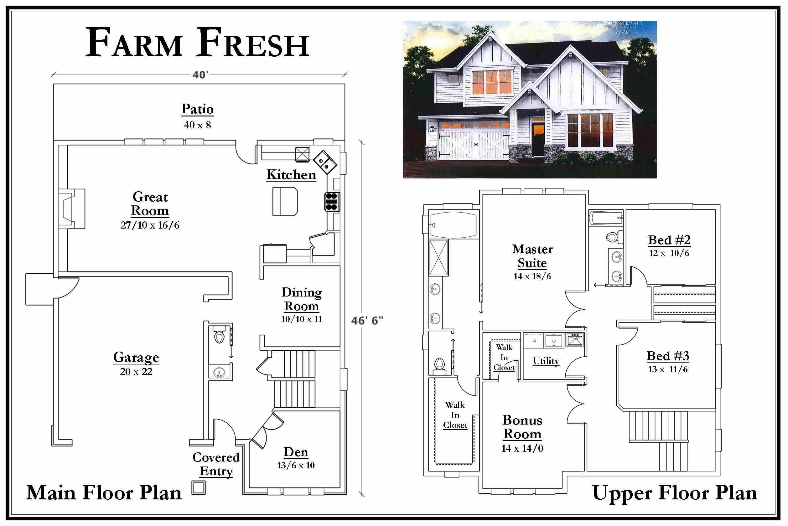 Farm Fresh Floorplan