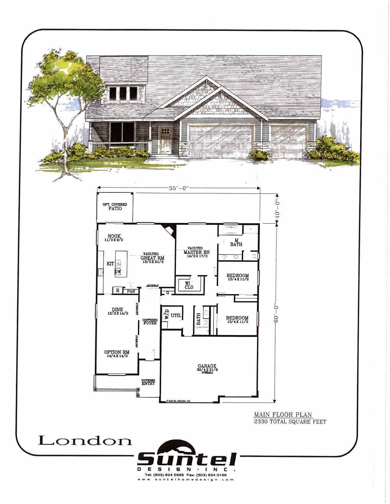 JR Meadows London Home Plan