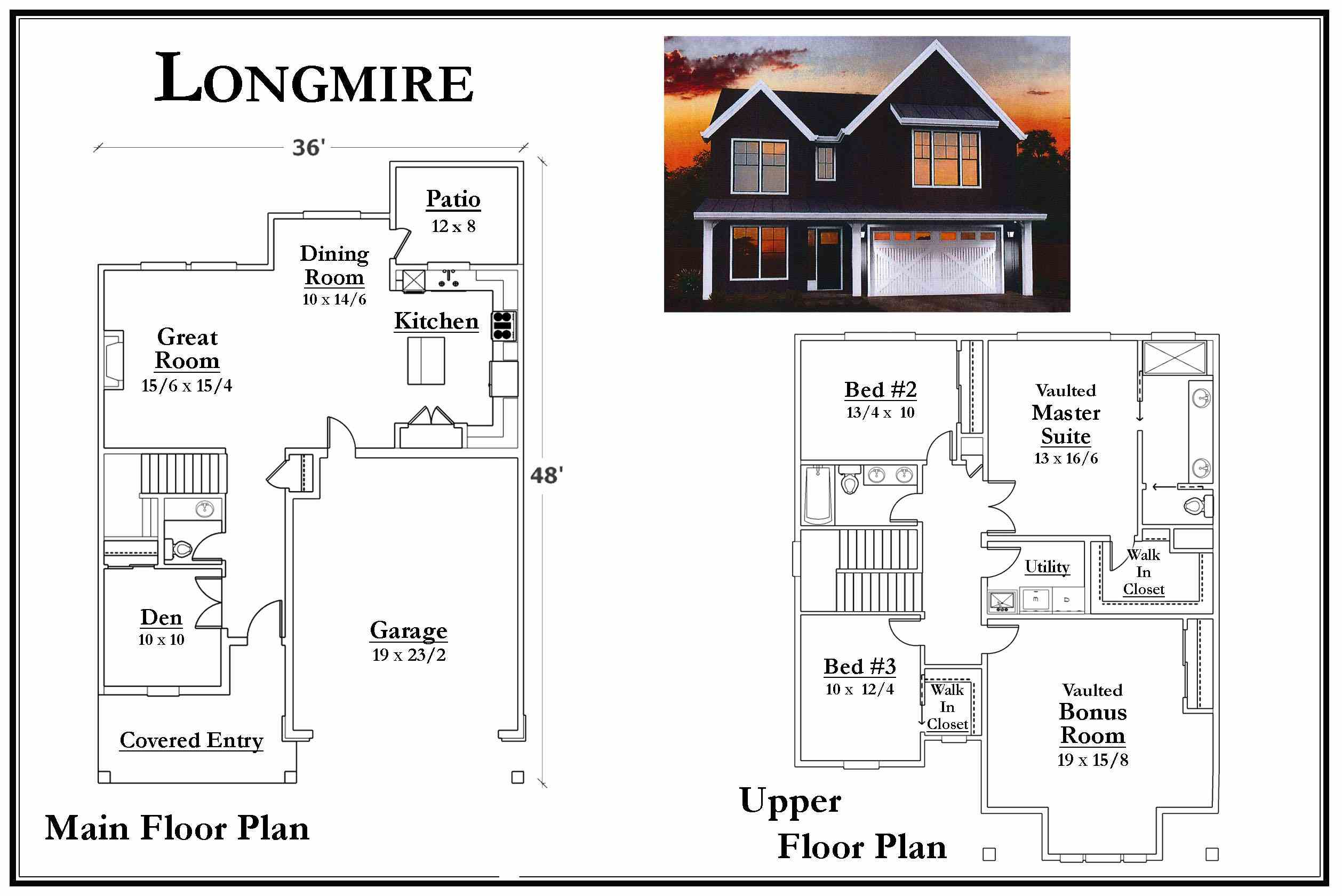 Longmire Floorplan