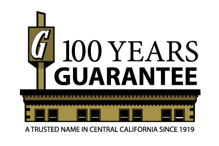 100 years guarantee logo